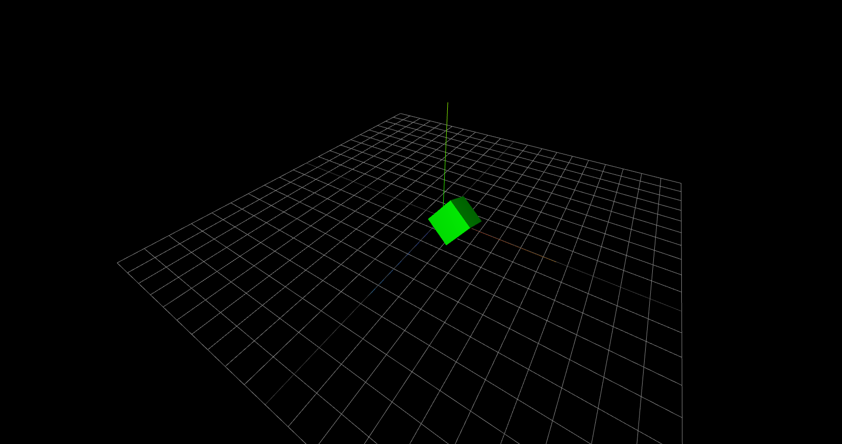 Three.js basic scene demo